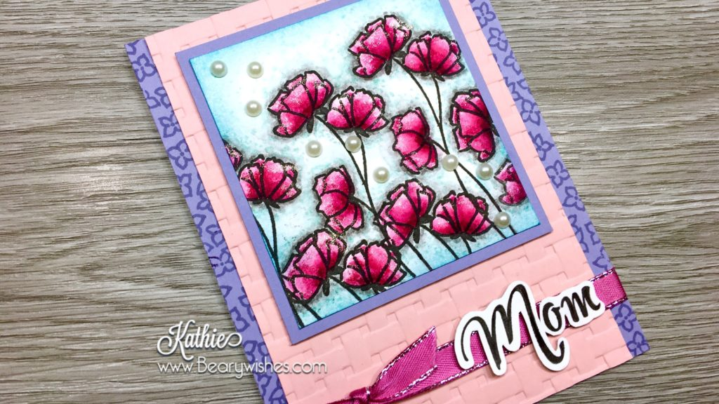 canadian stampin up demonstrator, stampin up, paper piecing, card making, card making Canada, paper crafting, paper crafting Canada, stamping up demonstrator, Kathie zaban, bearywishes, stampinkathie, stampin Kathie, Stamping, card making Canada, think of you card, amazing card, butterfly cards, flower cards, prism colouring, watercolouring,