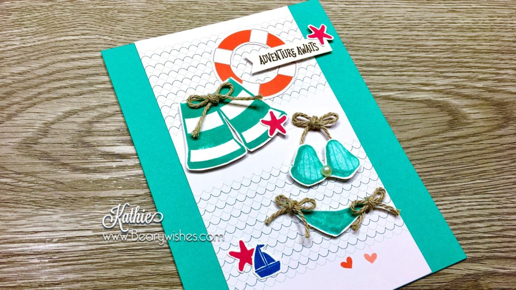 canadian stampin up demonstrator, stampin up, paper pumpkin, paper pumpkin Mar 2018, paper pumpkin March 2018, alternate paper pumpkin, paper piecing, card making, card making Canada, paper crafting, paper crafting Canada, stamping up demonstrator, Kathie zaban, bearywishes, stampinkathie, stampin Kathie, Stamping, card making Canada, april paper pumpkin, apr alternate, april alternative, Paper Pumpkin apr 2018, Paper Pumpkin april 2018, May good things grow,, beach card, bikini card, shorts card, summer card,